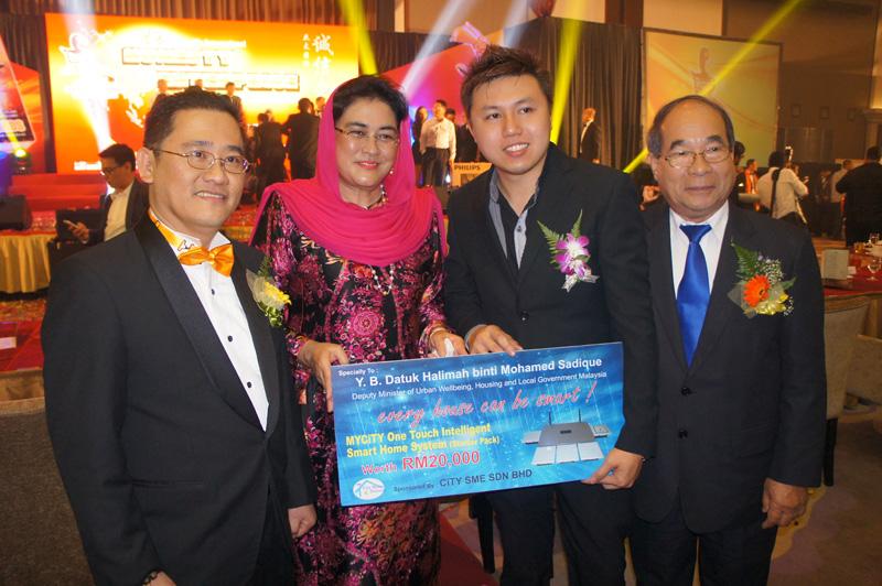 Y.B. Datuk Halimah binti  Mohamed Sadique & Senator H.E. Chhit Kim Yeat
