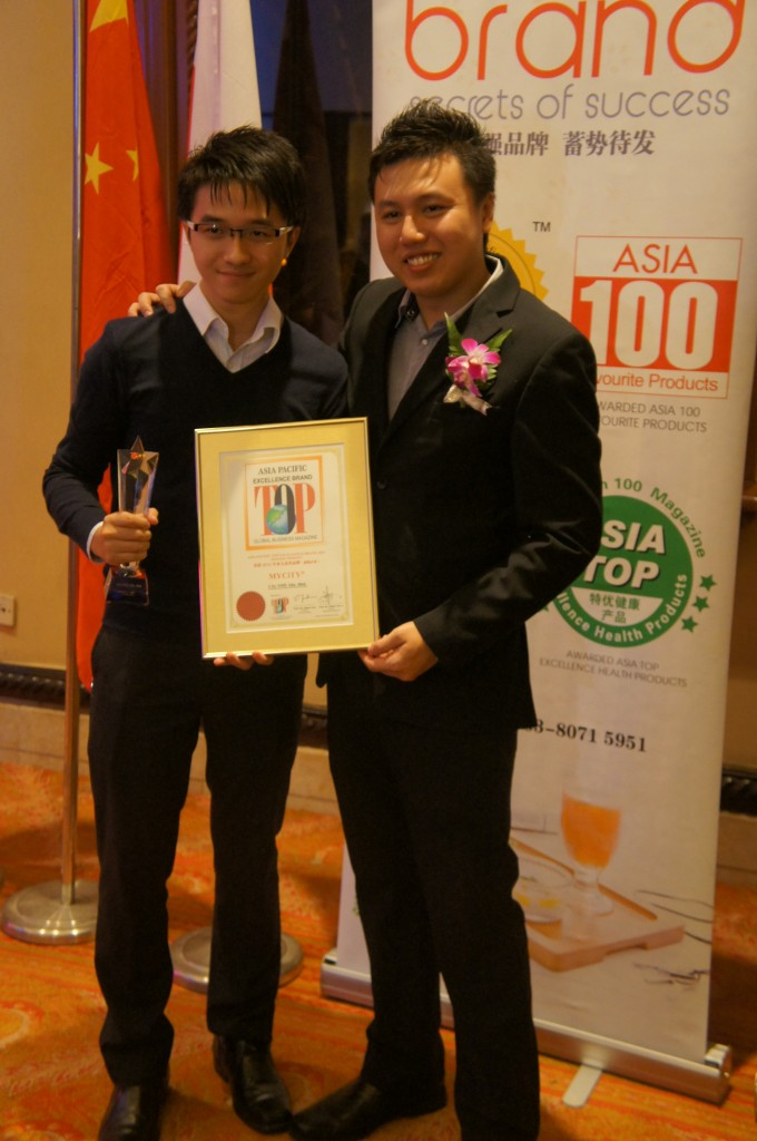 Asia Pacific Top Excellence Brand Year 2013