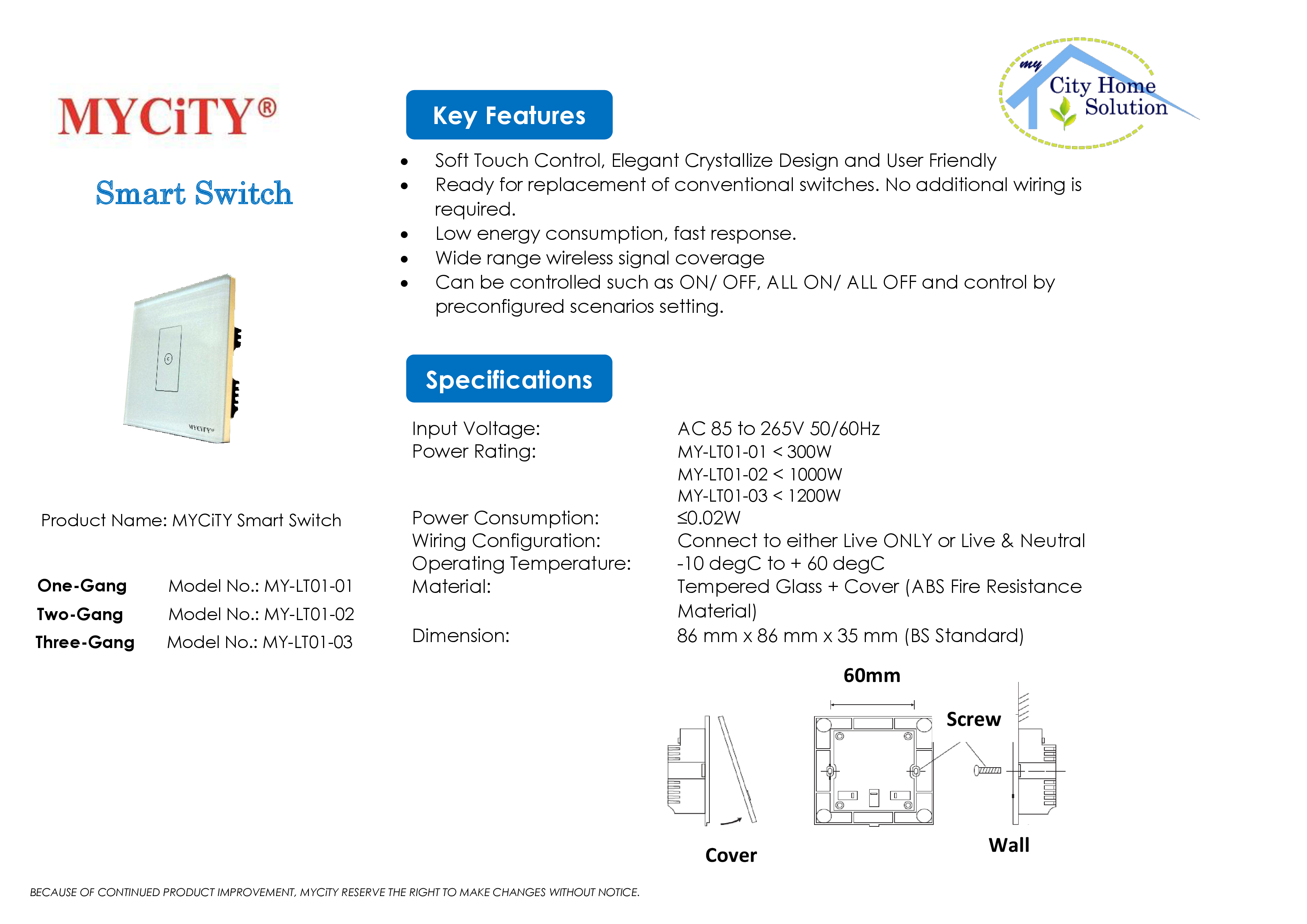 MYCiTY Smart Switch Catalogue rev0.4 FINAL